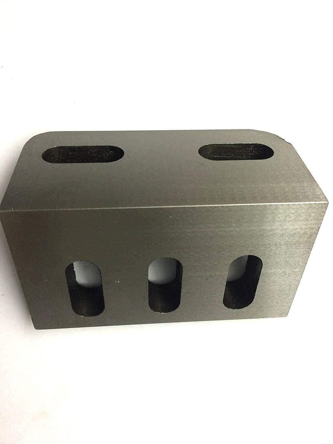 """Caste Iron Slotted Angle Plate 3/"""" x 2/"""" x 2.5/"""" Inches-Stress Relieved"""