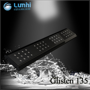 Lumini Glisten 135 new wireless wifi control 4 separate channels automatically led aquarium light