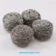 Low price and high quality Large Stainless Steel kitchen scrubber cleaning ball