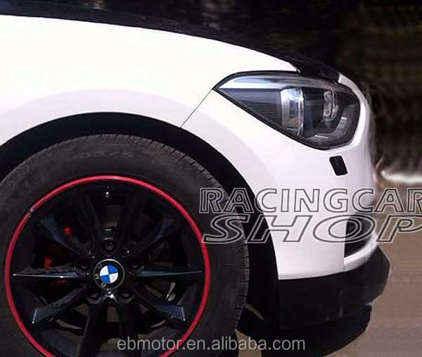 Acs Style Front Lip Spoiler 1pair For Bmw F20 1-series 116i 118i ...