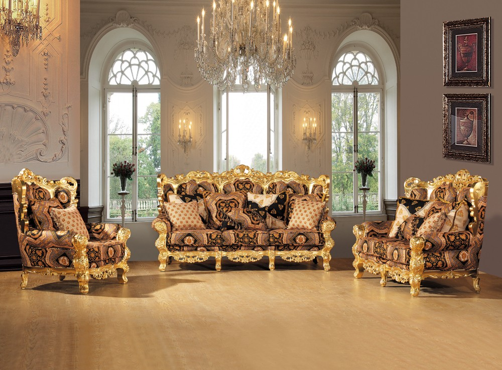 S2138 B Luxury Royal Classic Italian Living Room Sofa Furniture Royal Sofa  Set Designs Part 52