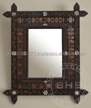 carved wooden mirror frame - Decorate Mirror Frame