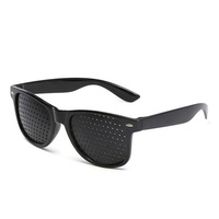 Anti-myopia Pinhole Glasses Pin hole Sunglasses Exercise Eyesight Improve Healing vision Care Eyeglasses Pinhole Glasses