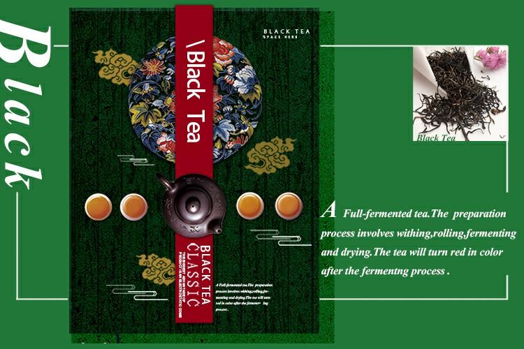 Trung quốc nhãn hiệu tốt nhất giá ngọc trai lỏng lẻo trà đen bá tước màu xám trà
