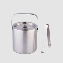 New Arrival 1.3L stainless steel small decorative metal bucket