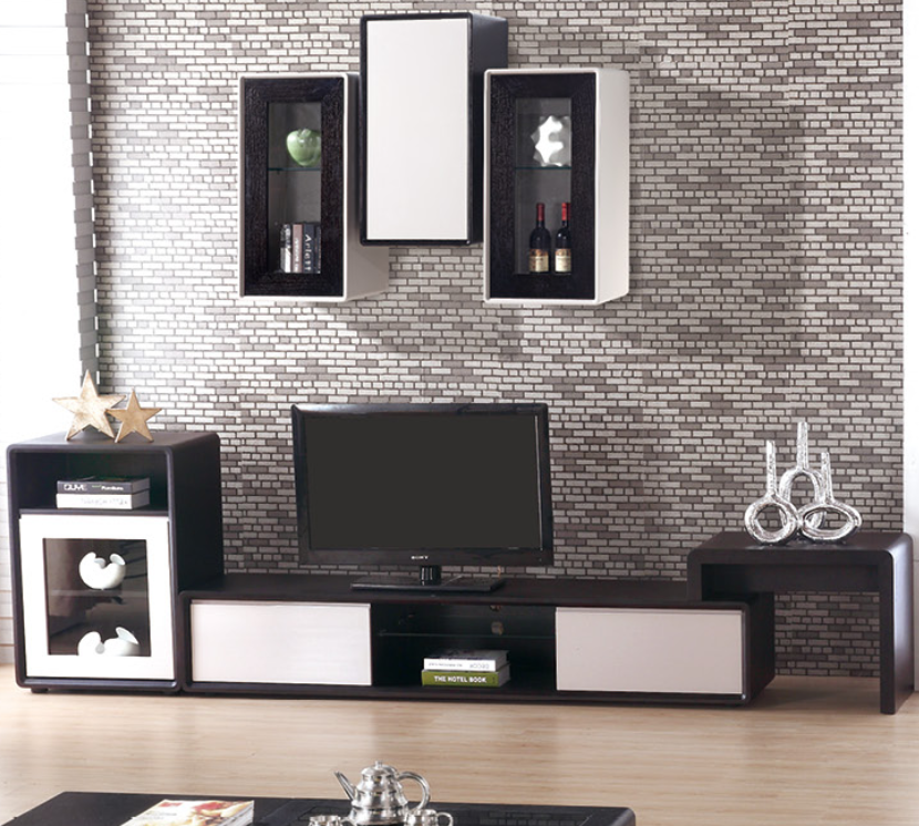 Modern Latest New Model Wood Led Tv Stand Design