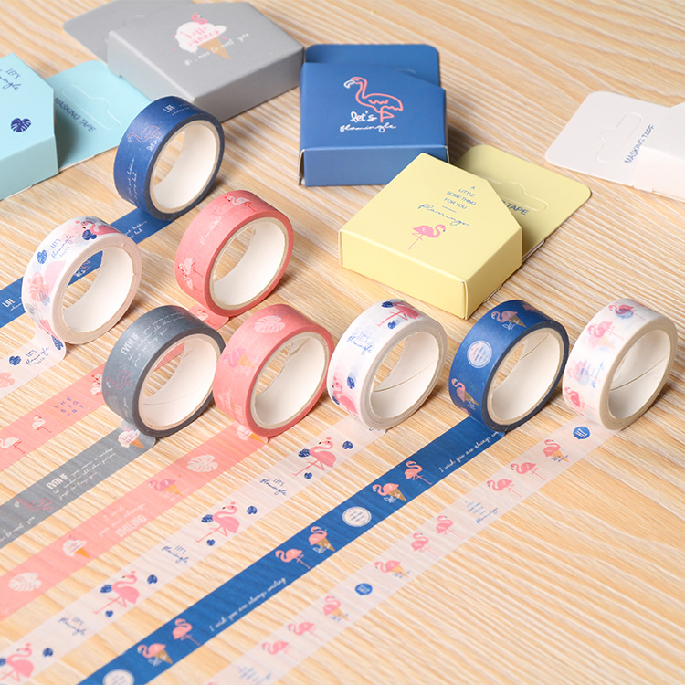 Custom design Craft DIY Washi Paper Tape