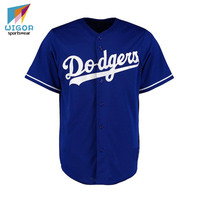 Micro Soft Fabric Hot Sale Sublimated Printing Custom Team Jersey For Baseball