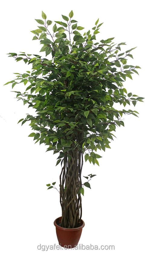 New d coratif r aliste artificielle mini bonsa arbres - Plante artificielle pour exterieur ...