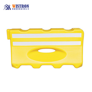 Water/sand filled barrier ,portable, crashproof driveway barricades