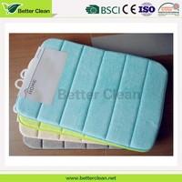 Size custom home flooring protection anti slip softable memory foam decorative washroom mats carpet padding