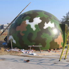 New developed fiberglass the prefab house container FRP Dome house