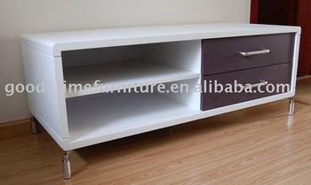 White Back Color Tv Cabinet