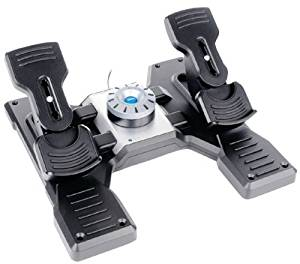 Saitek - Pc Pro Flight Rudder Pedals *** Product Description: Saitek - Pc Pro Flight Rudder Pedals 3-Axis Pedals To Maximize Flight Simulation Realism Self-Centering Pedals With Adjustable Damping Foot Rests Adjust To Fit All Sizes & Include Non- ***