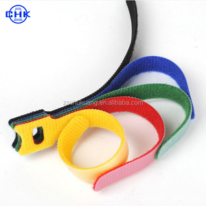 high quality factory price multi-usage hook and loop tie straps cable tie