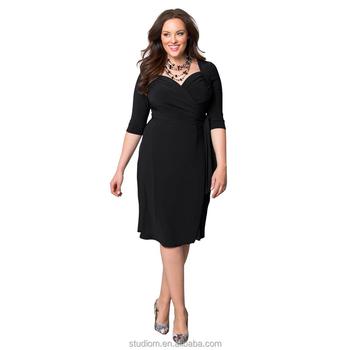 Summer Dress Designs For Fat Ladies Plus Size Women Dresses Buy