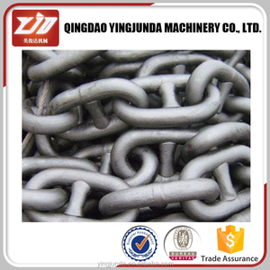 grade C three-link chain for coal transfer mining chain large link chain wholesale