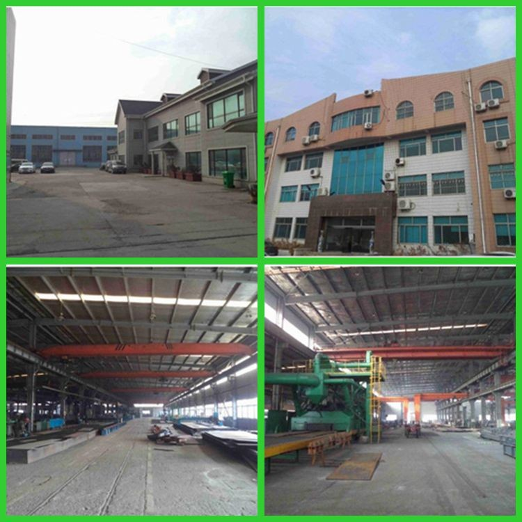 Low cost prefab warehouse design in China