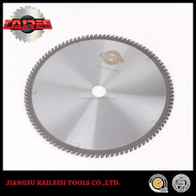 TCT carbide tips aluminum cutting saw blade