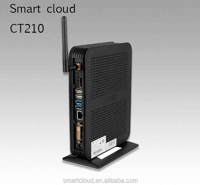 CT210 thin client, HD 1080p, RDP,CITRIX,PCOIP,VMWARE cloud computing terminal,dual ethernet POE optional