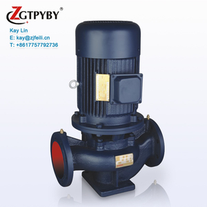 Electric ISG Single Stage Stainless Steel Inline Hot Water Circulating High Pressure Vertical Centrifugal Pump Jockey Pump Price
