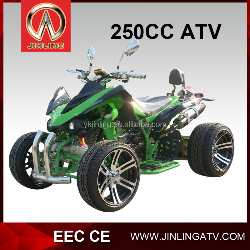 4 wheels eec 250cc motorcycle quads atv
