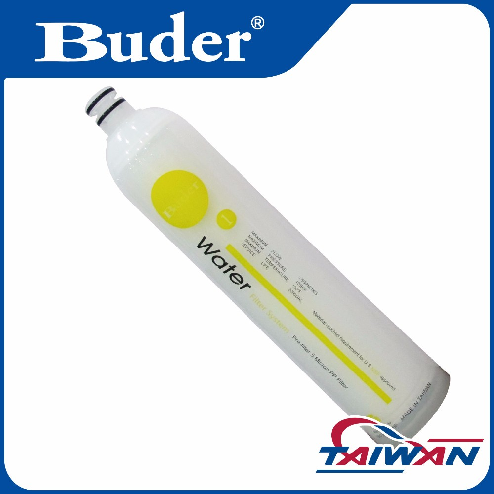 [ Taiwan Buder ] Quickly Change 5 Micron Water Filter For Water RO System Parts