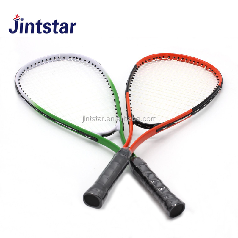 Professionele custom print speed badminton racket/racket groothandel
