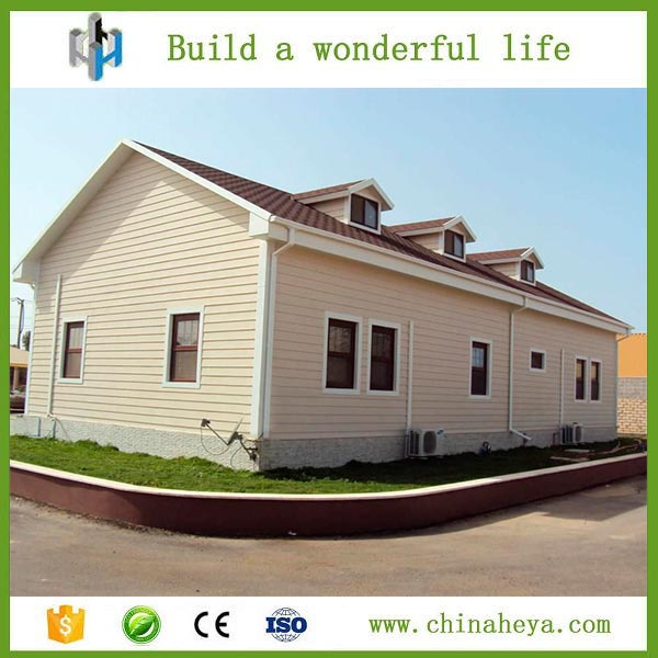 New design residential steel house cheap mobile prefab house