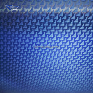 Antistatic twill and plain weave fiber cloth