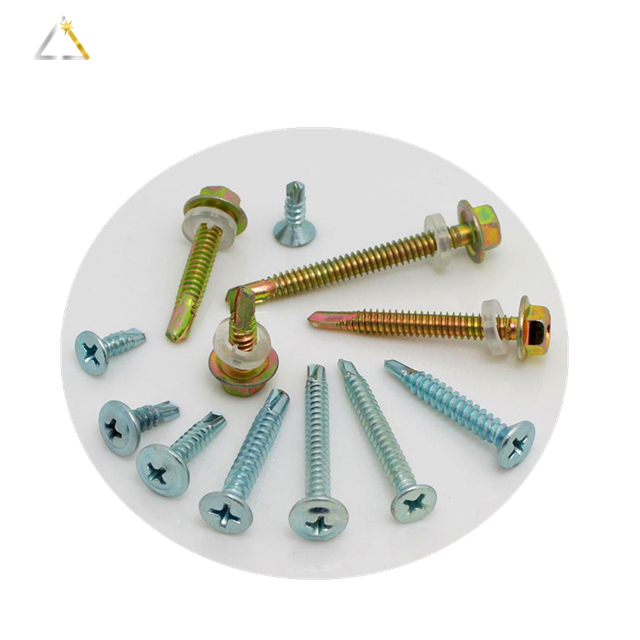 Galvanized Hex Head Self Drilling Screws