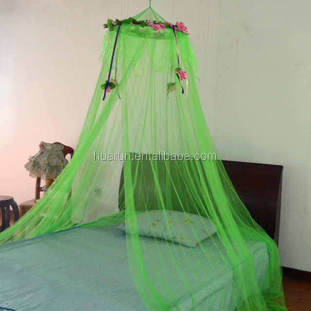 princess flower mosquito net canopy