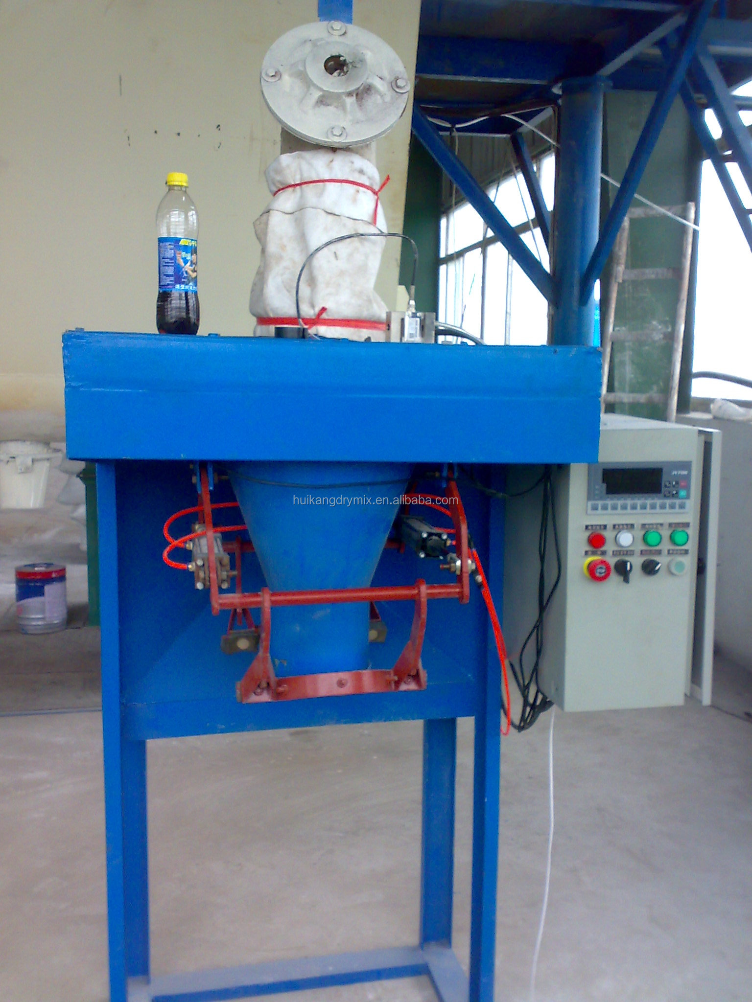 Widely Used Dry Putty Plaster Powder Lime Sand Concrete Packing Machine Cement Mortar Mixing Machine