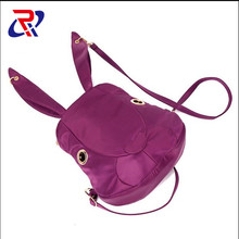 bf530e51e31e0 Moda bayanlar sırt çantası oxford kumaş çanta eşleşen tarzı sevimli tavşan sırt  çantası