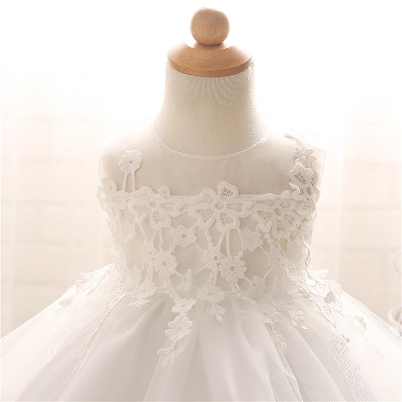 Nette Kinder Spitze Blumenmädchen Baby Kleid Prinzessin Vintage ...