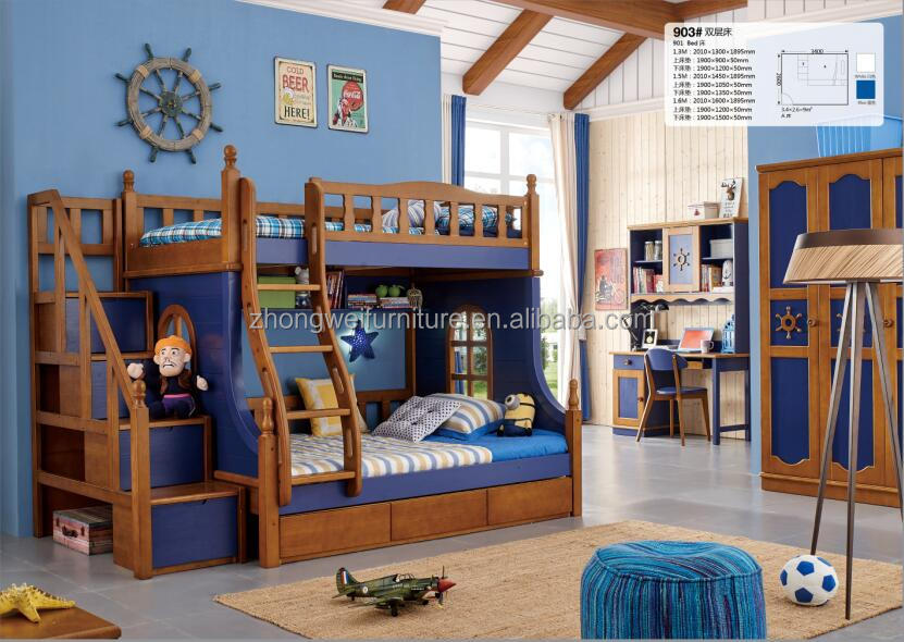 903 venta caliente ni os de dos pisos cama cama litera de - Cama doble para ninos ...