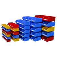 box manufacturing container stack able warehouse industrial wholesale spares heavy duty plastic storage bins wholesale parts box