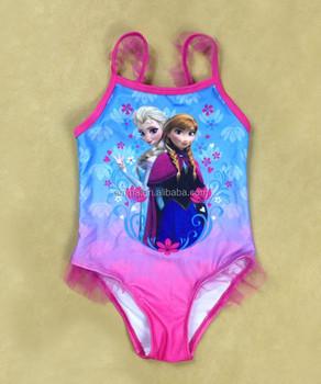 fbe8c35f1a Girls Toddler Frozen Elsa Anna Bikini Swimwear Swimming Costume BC434