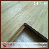 C&L natural unfinished Acacia solid timber wood flooring