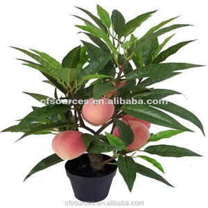 2018 High Simulation Fruit Tree Plants Artificial Peach Tree