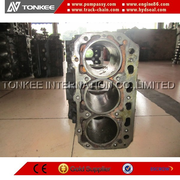Diesel stainless steel 3D84-2 3D84E-3 cylinder engine block