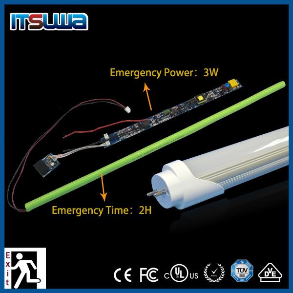 2 Feet T8 Led Fluorescent Tube Emergency Light Rechargeable