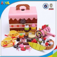 kids pretend playing toy cutting toy food,wooden food toy
