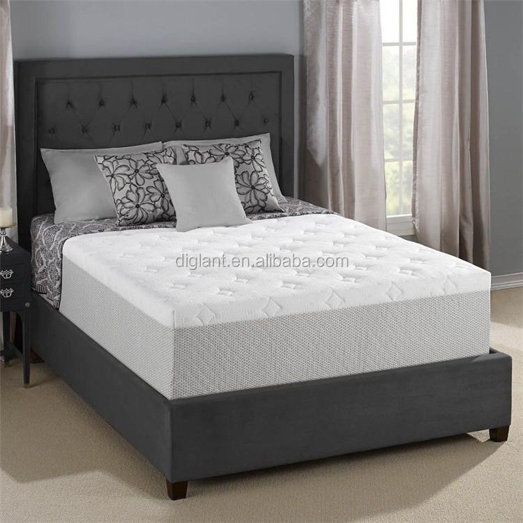 diglant matras cool gel traagschuim matras kingsize bed slaapkamer