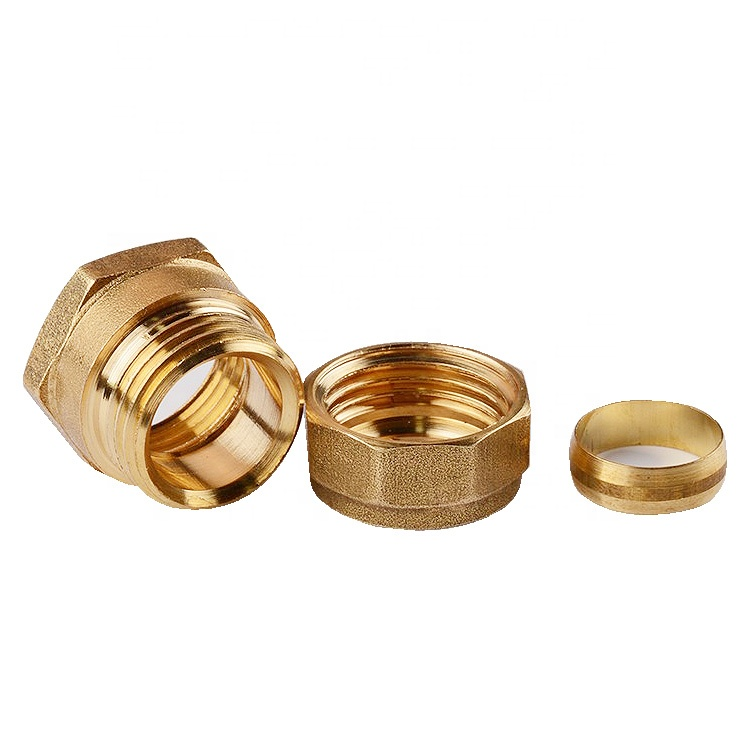 Wholesale high quality female 58-3 brass elbow fittings