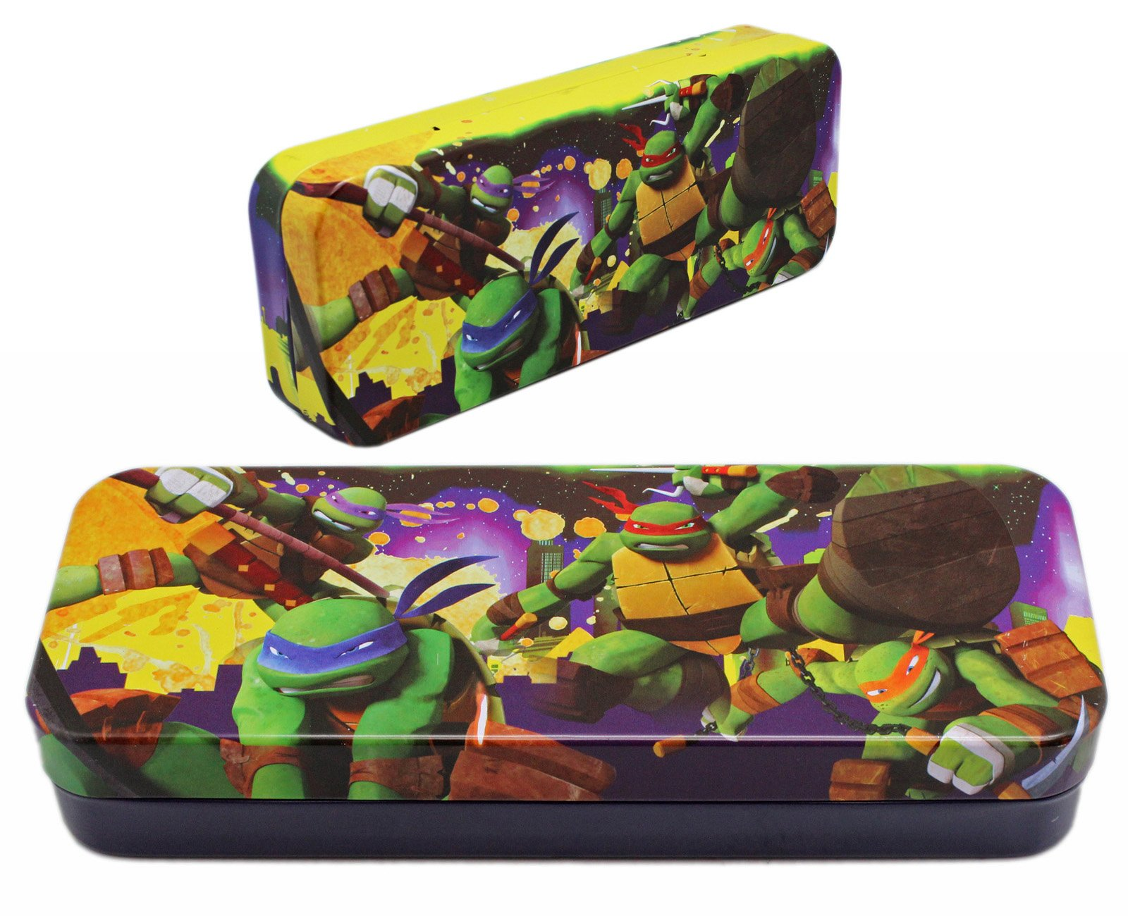 Teenage Mutant Ninja Turtles 3-Ring Zippered Pencil Pouch Case