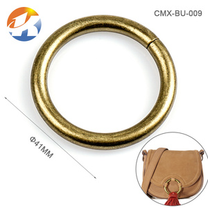 Bag Accessories Bronze Metal O Ring