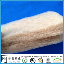 Professional manufacturing of warm Natural bamboo fiber batting/wadding/padding/felt for mattress/garments/home textiles