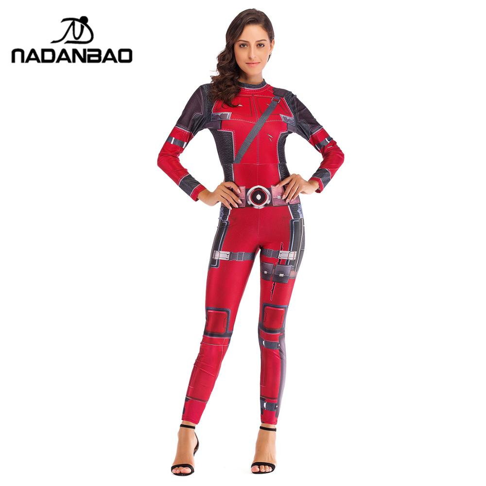 2020 ファッション映画コスプレ女性ハロウィン衣装大人のスーパーヒーローのためのジャンプスーツ