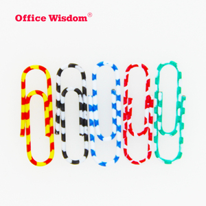 Hot selling top quality promotional logo printed plastic magnetic custom paper clip with pen WIHXZ012
